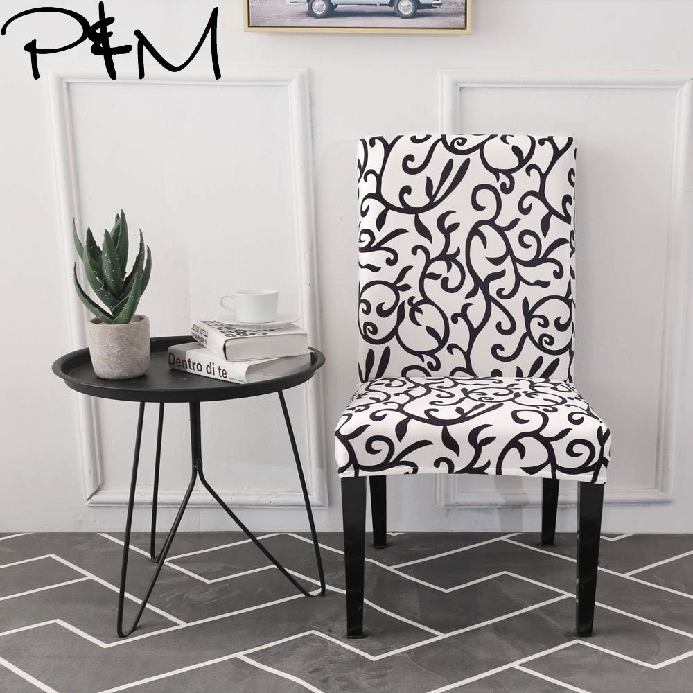 P Amp M Black And White Multifunctional Chair Cover Hotel
