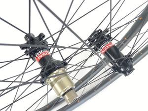 Image 2 - Juego de ruedas de carbono para bicicleta de montaña, peso ligero, 1220g, 29er, XC, 30mm x 30mm, sin capucha, 24H, 28H, D411SB, D412SB, 6 tornillos o CL