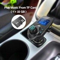 fm משדר Bluetooth לרכב אלחוטי נגן MP3 דיבורית לרכב משדר FM 5V 2.1a USB Display מטען LCD לרכב FM אפנן (3)