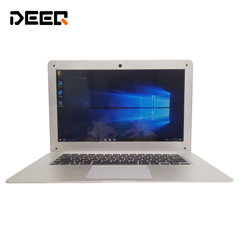DEEQ 14inch laptop 2G 32G multi language activated windows OS 10 laser keyboard russian free shipping camera