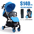 ULTRA LIGHT FOLDABLE YOYA YOYO BABYYOYA BABY STROLLER 175 SLEEPING WITH FLASHLIGHT MUSIC FOOT EXTENSION