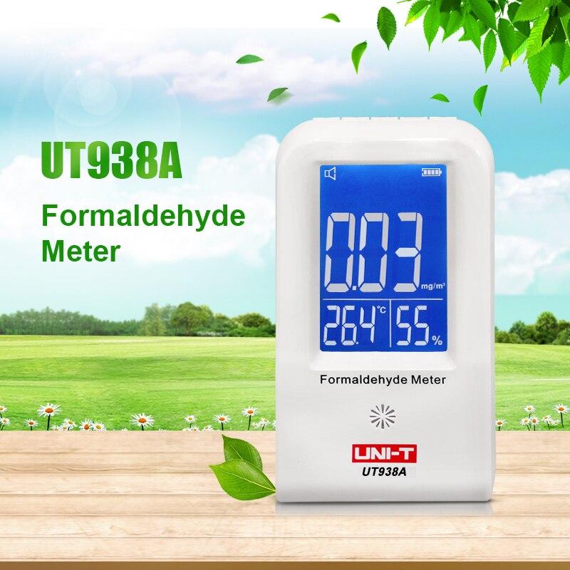 Uni-t Ut938a Hohe Präzision Innen Formaldehyd Meter Formaldehyd Daten Logger Detektor Luft Monitor Thermometer Hygrometer Lcd Exquisite Handwerkskunst; Gas Analysatoren Analysatoren