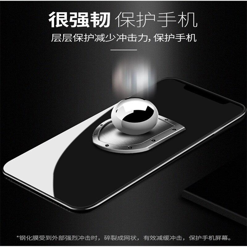 2018111801 xiaoluodisaigangdai350 10 colori di Protezione Del Telefono Pellicola Della Protezione Dello Schermo per il telefono mobile di Vetro