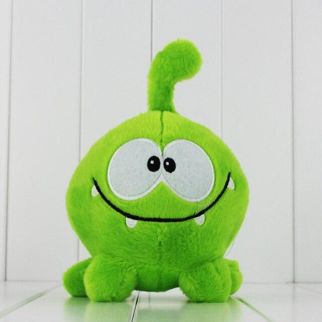 20 см перерезать веревку мой Om Nom мультфильм перерезать веревку чучела и мягкие игрушки животных плюшевые игрушки бесплатно shiiping