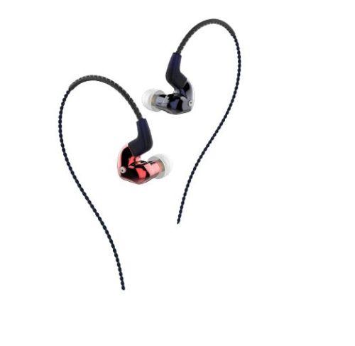 FORREST FLC8S Earphones HiFi Triple-Driver Hybrid 2BA+Dynamic In-Ear Stereo DJ Studio Monitor Earbuds Earphones ggmm ej102 nightingale in ear earphones dynamic stereo golden