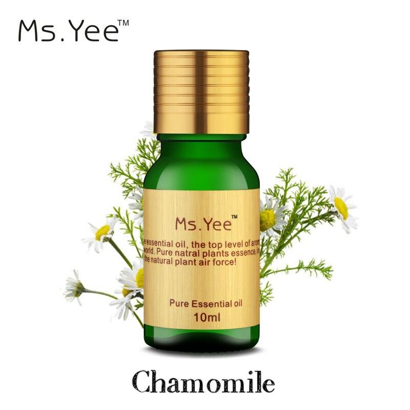 Naturalne olejki eteryczne z rumianku skuteczne Przeciwbólowe środki przeciwstresowe Czysty olej z rumianku dla samochodu Aromaterapia w domu 10Ml