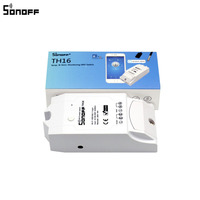 Sonoff TH 10A 16A Temperature And Humidity Monitor WiFi Wireless Smart Switch Smart Home APP Control