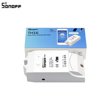 Sonoff TH 10A 16A Temperature And Humidity Monitor Wifi Switch Smart Home Automation Kit Module Works With Alexa Google Home