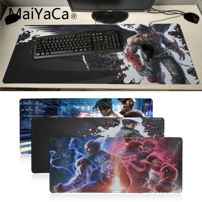 Large Big 2mm Black Non Slip World Earth Map Gaming Mouse Keyboard PC Pad Mat