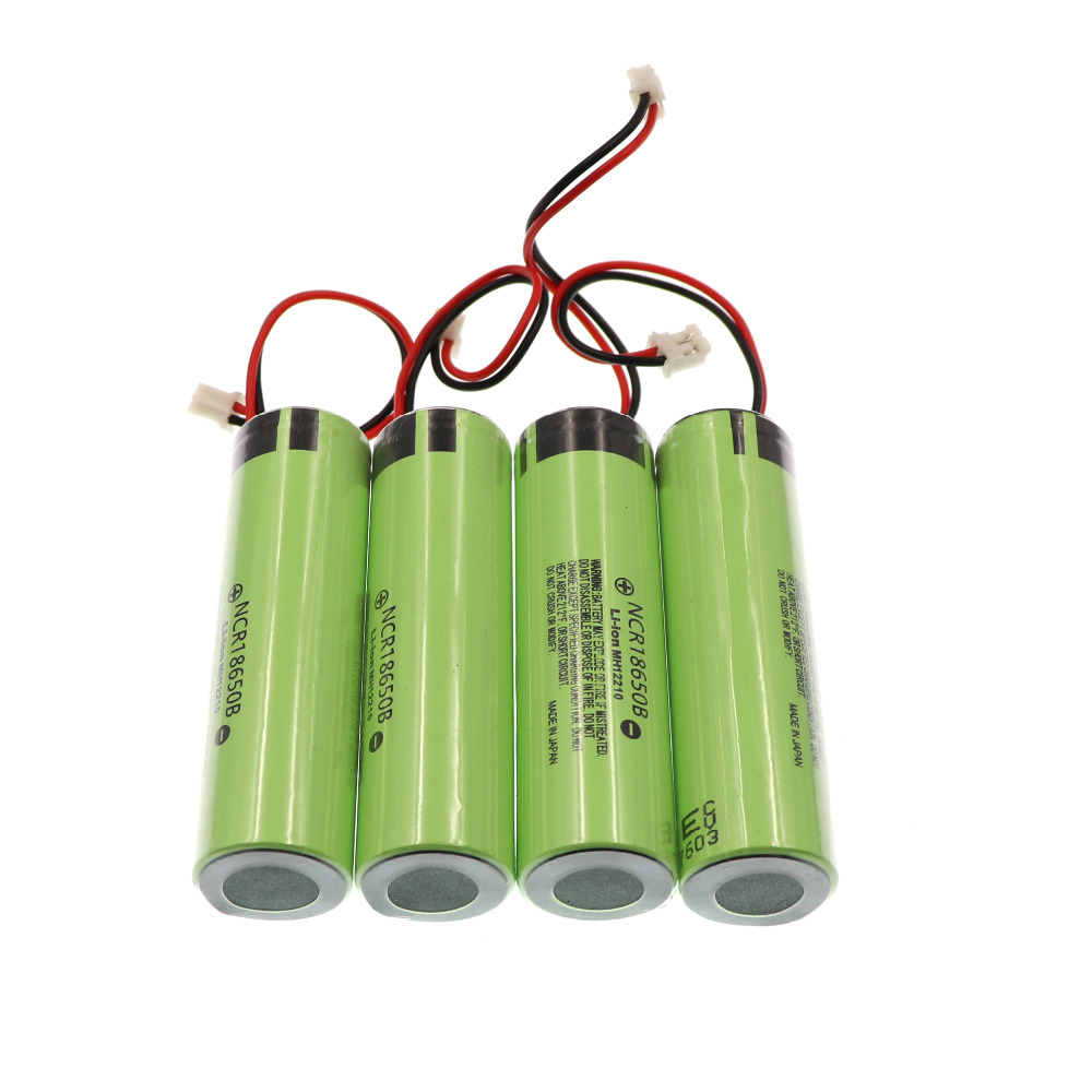 2018/100 New NCR 18650B 3.7 V 3400mAh Player Battery, Bluetooth Speaker Battery 2P Lead, Japanese Quality Battery