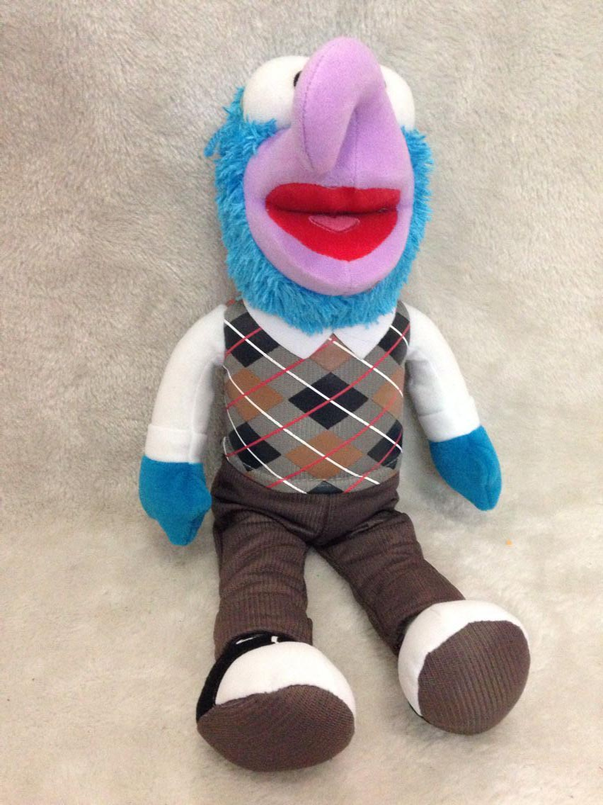 Cartoon The Muppet Show Gonzo Plush Toy 20cm Cute PP Cotton The Muppets Plush