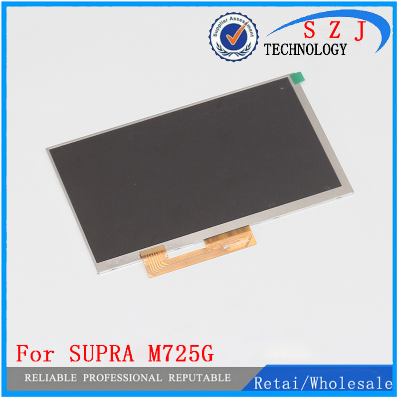 New 7'' Inch 30PIN 1024*600 Replacement LCD Display Screen For SUPRA M725G tablet PC Free shipping