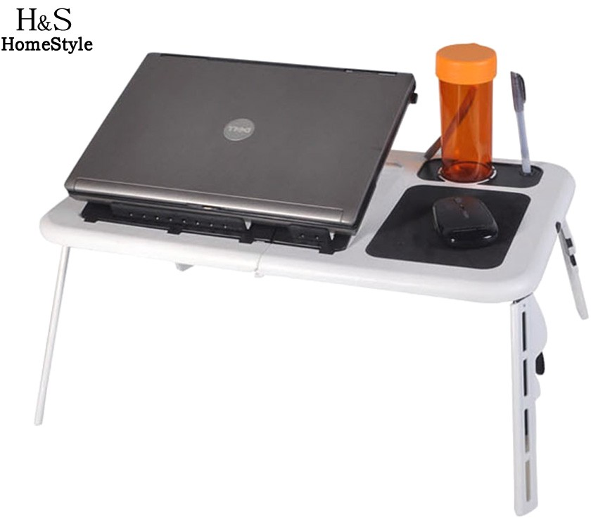 Portable folding laptop notebook table desk adjustable laptop stand - Homdox Portable Adjustable Laptop Table Notebook Stand