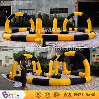 2016 новый дизайн открытый надувной Go Kart гоночная дорожка для продажи 8*5 м бинго надувные BG A0808 игрушка