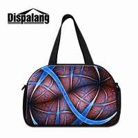 Dispalang new fashionable practical independent shoes bit travel bag business trip duffle bag striped pattern travel luggage bag