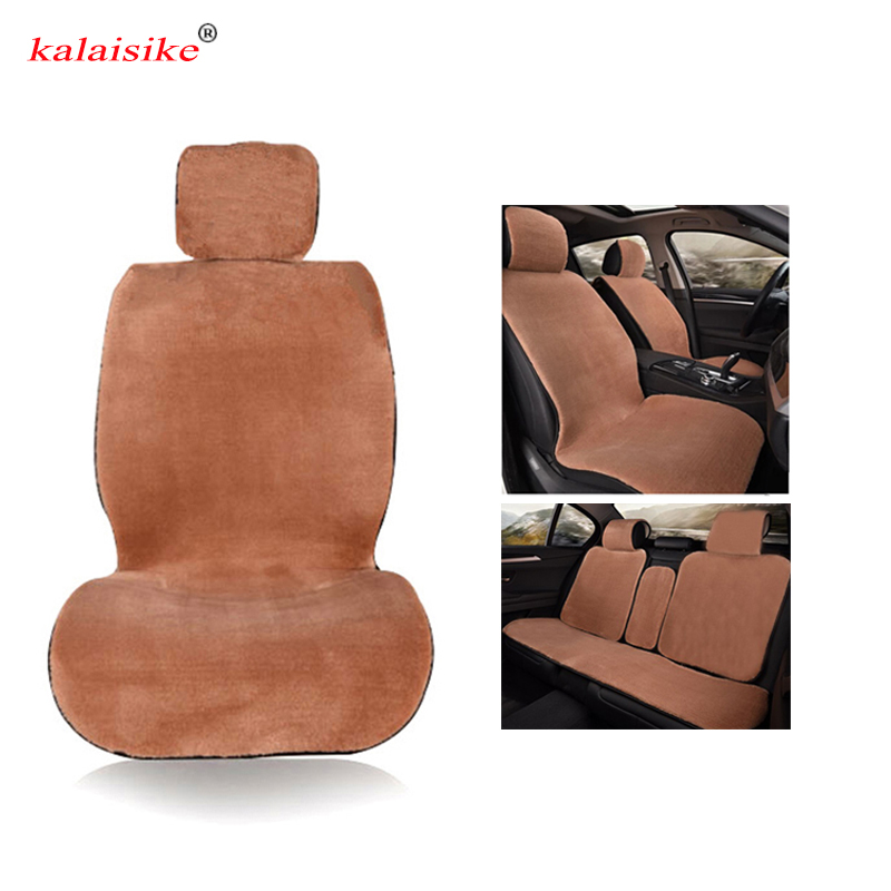 kalaisike plush universal car seat covers for Volvo all model s60 s80 c30 s40 v40 v60 xc60 xc90 xc70 car styling car accessories цена