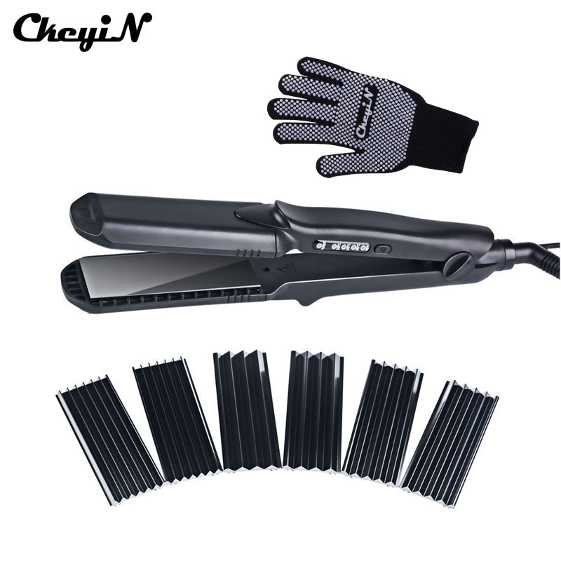 100-240V Hair Care Styling Corrugated Hair Curler Curling Straightener Professional Straightening Flat iron Ceramic Straightener mini curls hair straightener flat iron fast warm up ceramic electronic titanium straightening corrugated curling styling tools
