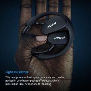 Image 4 - Mpow ברדלס MBH6 Bluetooth אוזניות אלחוטי אוזניות עם מיקרופון IPX5 עמיד למים AptX ספורט אוזניות עבור iPhone אנדרואיד טלפון