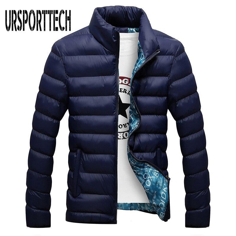 2018 New Jackets Parka Men Quality Autumn Winter Warm Outwear Brand Slim Mens Coats Casual Windbreak Jackets Men M-4XL Hot Sale