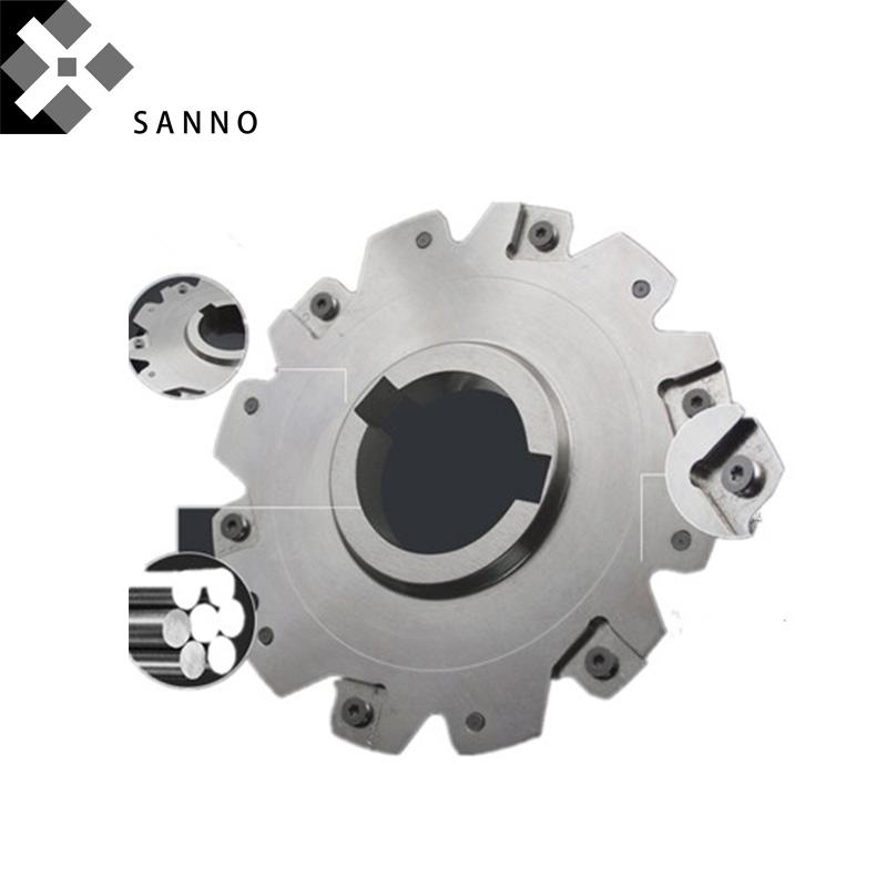 High quality cnc face and side milling cutter PT02.12J50.250.24.H8 cnc face mills cutter tools refer to SMP01