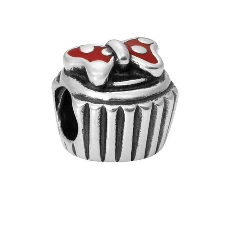 Phù hợp với Pandora Vòng Đeo Tay Ngày Valentine Hạt Mary Poppins Bạc 925 Đồ Trang Sức Bijoux Joyas De Plata Phù Thủy Charms Đồ Trang Sức