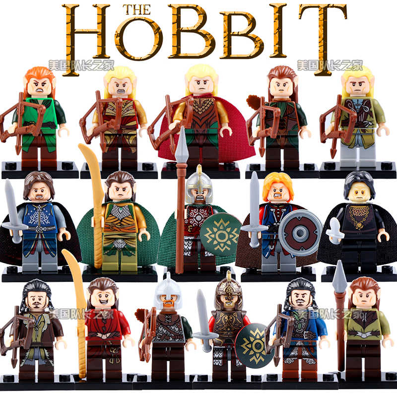 Hobbit Aragorn Theoden Rohan Grima Tauriel Mirkwood Haldir Thranduil The Lord Of The Rings ของเล่นเข้ากันได้กับ Lego