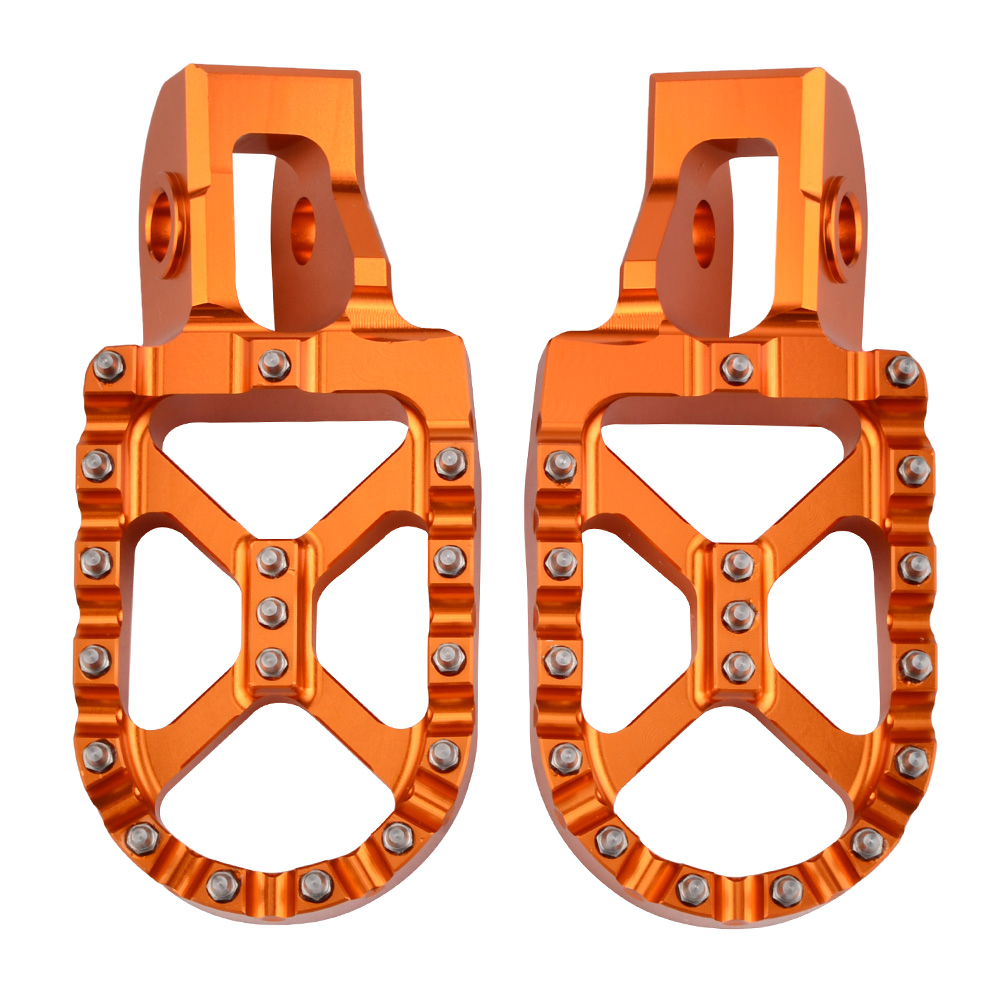 For KTM 2016 2019 Footrest Footpeg Foot Pegs Rests Pedal For KTM SX SXF EXC EXCF