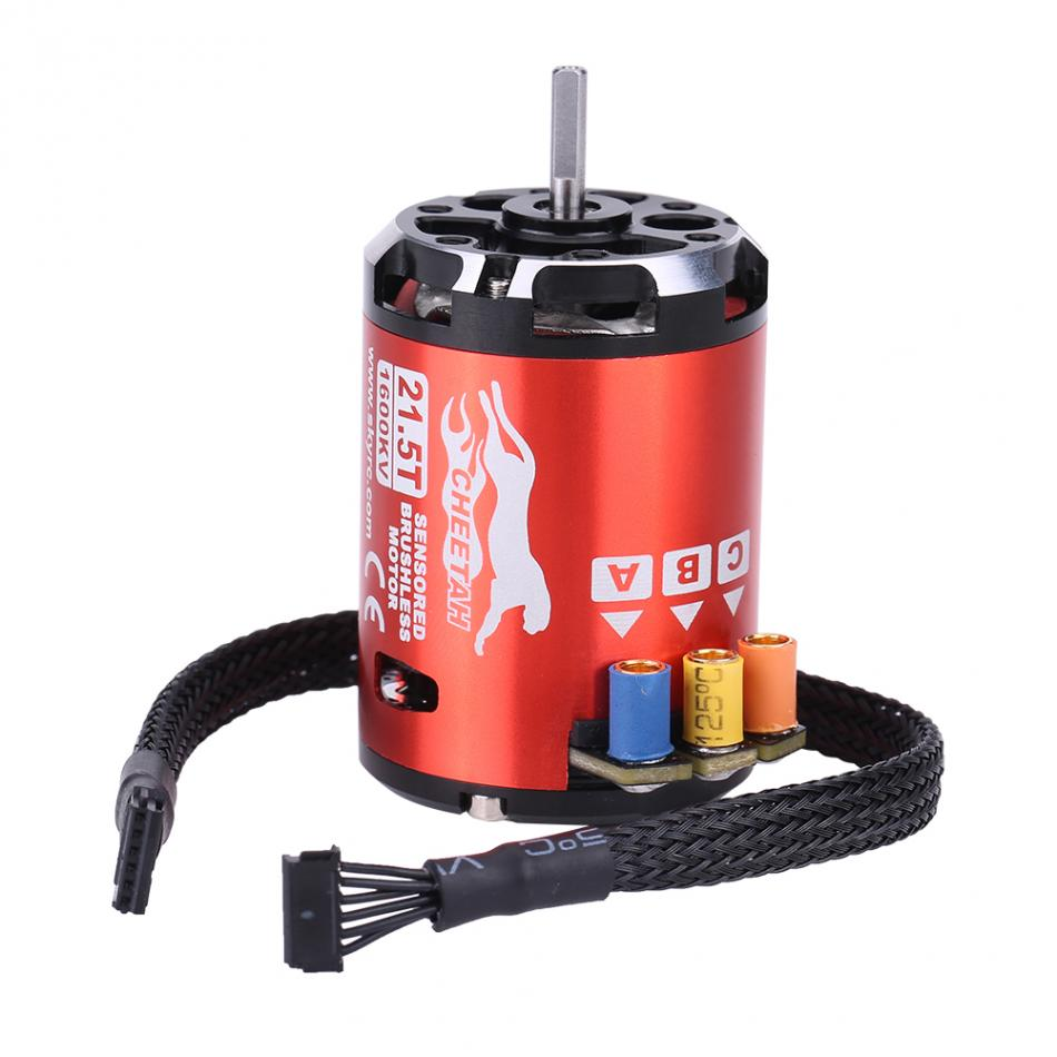 1600KV 21.5T 2 Poles Sensored Brushless Motor+ 60A Electronic Speed Controller Drone Accessory+ Programming Card RC Accessory t motor brushless motor u10 plus kv80 drone brushless motor