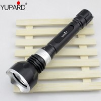 Waterproof Underwater Diving Diver XM L2 T6 LED Flashlight Fishing Lamp Yellow White Light 18650 Rechargeable