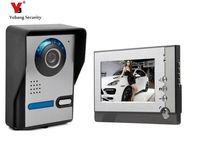 Yobang Security 7 inch Color LCD Screen Doorphone Door Intercom Video Intercom Doorbell System Release Unlock for Private House