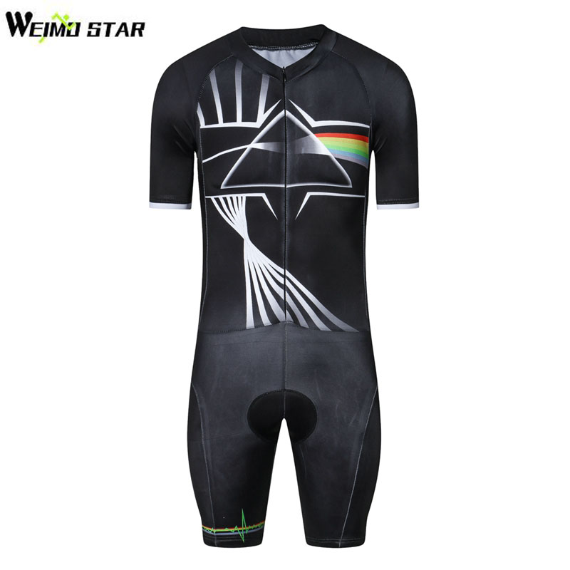 WEIMOSTAR Men Triathlon Clothing Quick Dry Short Sleeve Cycling Jersey Tight Suit Bike One Piece Compressed Bicycle Clothing nuckily ma008 mb008 men short sleeve bicycle cycling suit