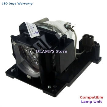 DT01091 Replacement Projector Lamp with housing For HITACHI CP-AW100N / CP-D10 / CP-DW10N / ED-AW100N / ED-AW110N / ED-D10N dt00757 projector lamp for hitachi cp hx3280 cp x251 cp x256 ed x10 ed x1092 ed x12 ed x15 ed x20 ed x22 hcp 50x mp j1ef 3m x71c