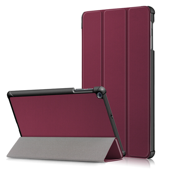 For Samsung Galaxy Tab A 10.1 2019 T510 T515 SM-T510 SM-T515 Tablet Case Custer Fold Stand Bracket Flip Leather Cover