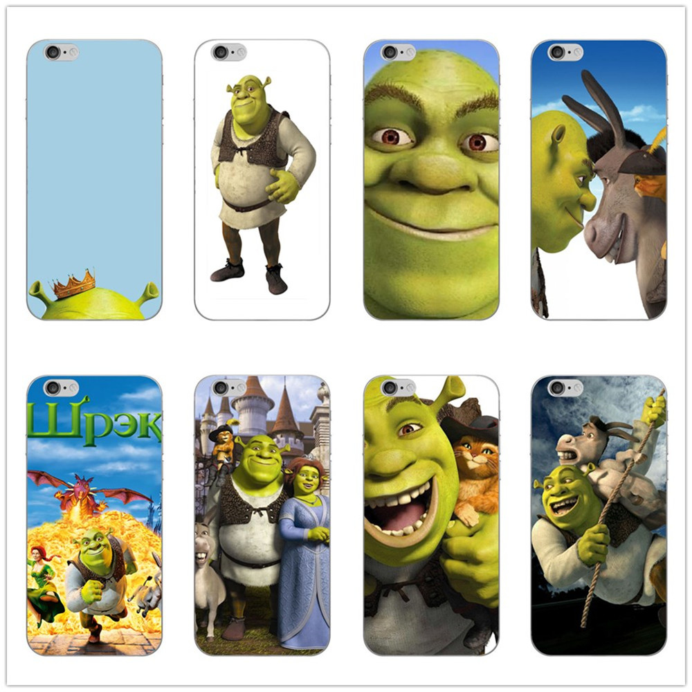 Cartoon Moive Shrek Coon Customer High Quality Phone Case for iPhone 8 7 6 6S Plus 5 5S SE XR X XS MAX Coque Shell Силиконы