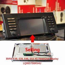 Nawigacja wyświetlacz LCD dla BMW E38 E39 E46 E53 X516:9 alpejski radioodtwarzacz LQ065T9BR54U