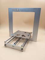 Update Prusa i3 frame kit black/silver color aluminum alloy Anodized with motor