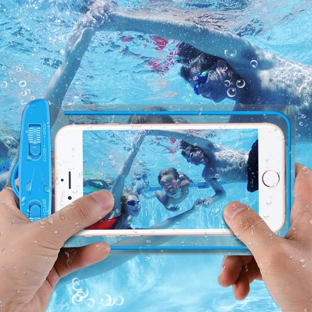 finest selection 52591 4c10b Universal Luminous Waterproof Swimming Case For Xiaomi Redmi 5 Plus Note5  Water Proof Pouch Bag For iPhone 6 6s 7 Plus S8 S9