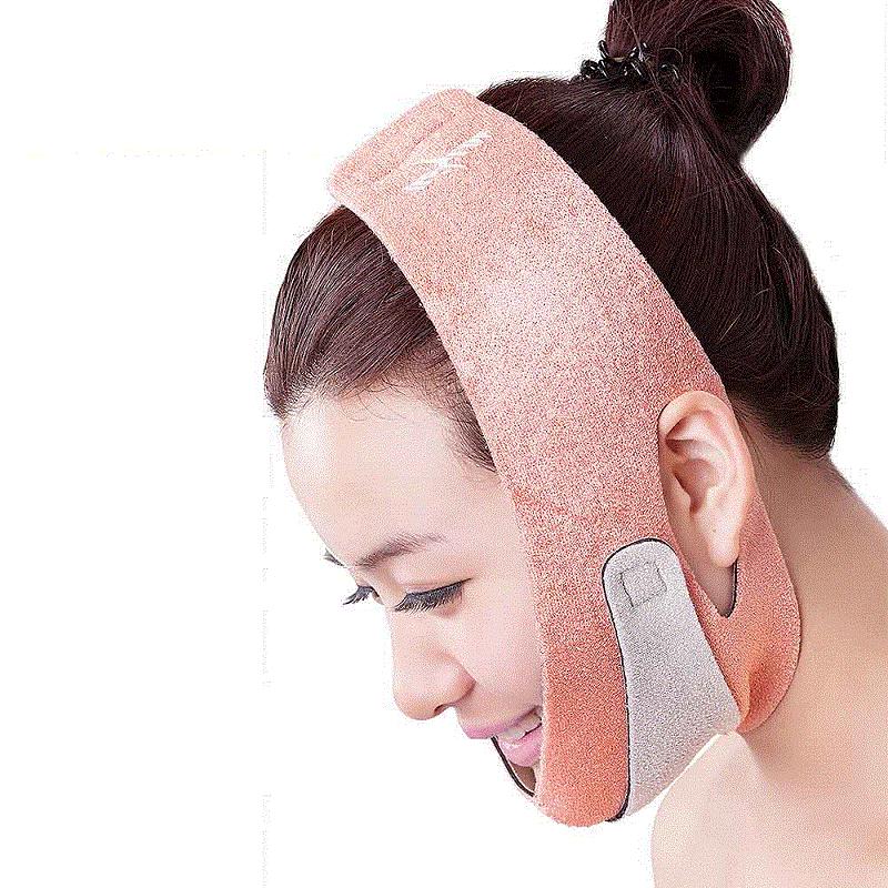 New Quality Orange Face Mask Brace Shape Cheek Uplift Slim Chin Face Belt Bandage Health Care Weight Loss Product Face Massage