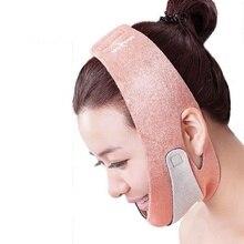 New Quality Orange Face Mask Brace Shape Cheek Uplift Slim Chin Face Belt Bandage Health Care