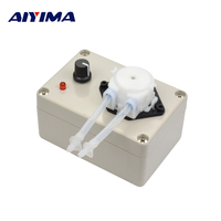 New 12V DC Adjustable Speed Dosing Pump Peristaltic Dosing Head For Aquarium Lab