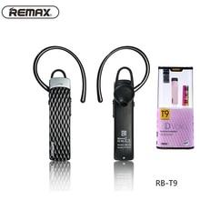Remax T9 Bluetooth Headset Auriculares Inalámbricos Apoyo Chino Inglés Español Francés Deporte Auricular Para Xiaomi Samsung iPhone