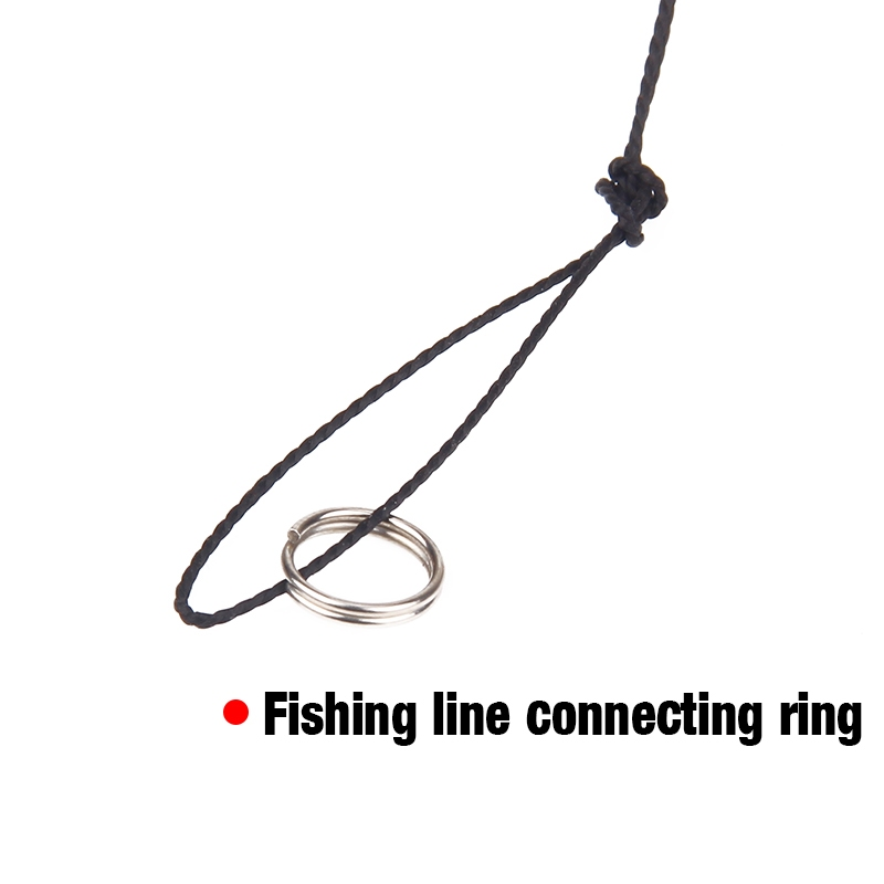 SEAPESCA High Carbon Steel String Hook with 5 Small Hook Rigs Swivel Fishing Tackle Lures Bait Pesca Fishhooks ZB445 in Fishhooks from Sports Entertainment