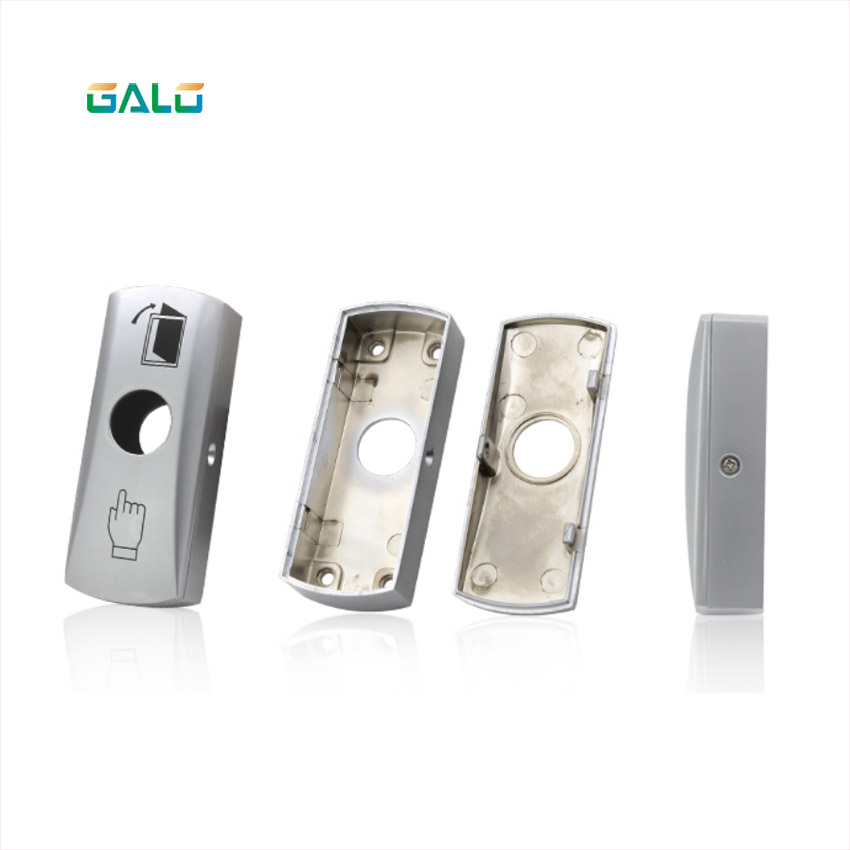 Metal annular LED ring button switch with NO COM door Access Control System output button output switchMetal annular LED ring button switch with NO COM door Access Control System output button output switch