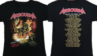 AIRBOURNE Breakin Outta Hell Tour 2016 New Mens Womens Short Sleeve T Shirt Custom 100 Cotton