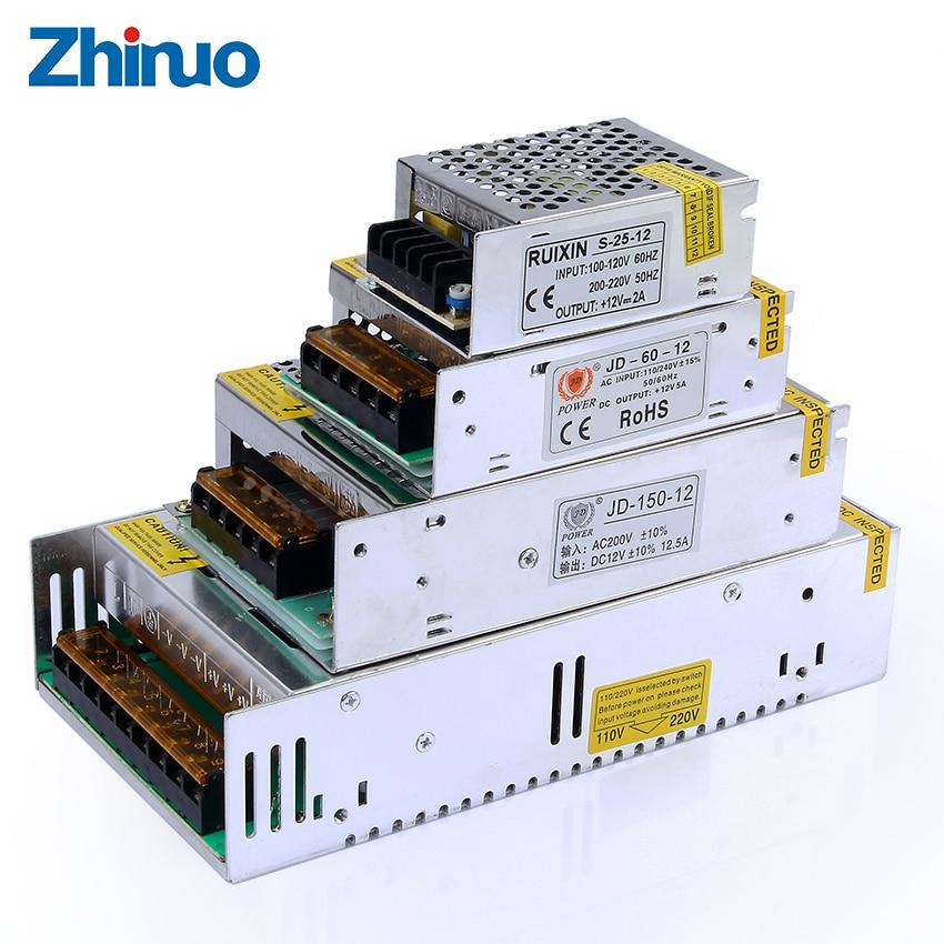 12v Lighting Transformer 110v 220v To 12voltage Led Driver