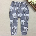 4Pairs/Lot 2017 New Fashion Infant Newborn Baby Boys Elephant Harem Pants Baby Boy Trousers Kids Leggings 29E