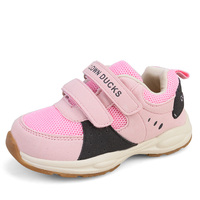 Children S Casual Shoes 2016 Boys And Girls Fashion Sports Shoes Breathable Antiskid Shoes Black Pink