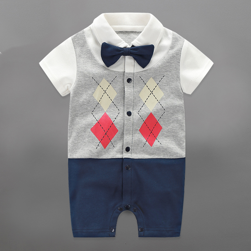 2017 Baby Rompers Autumn Newborn Baby Clothes Cotton Baby Boy Clothing Sets Spring Baby Boy Clothing Roupa Bebe Infant Jumpsuits
