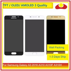 Image 1 - ORIGINAL For Samsung Galaxy A3 2016 A310 A310F A310H A310M LCD Display With Touch Screen Digitizer Panel Pantalla Complete