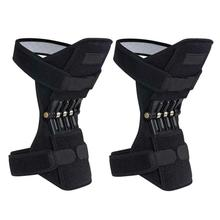 1 pair Joint Support Knee Pads Breathable Non-slip Power Lift Joint Support Knee Pads Powerful Rebound Spring Force Knee booster 1 pair joint support knee pads breathable non slip power joint support knee pads powerful rebound spring force knee booster
